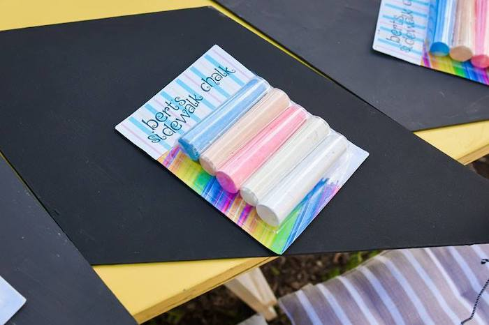 Bert's Sidewalk Chalk from a Mary Poppins Birthday Party on Kara's Party Ideas | KarasPartyIdeas.com (55)