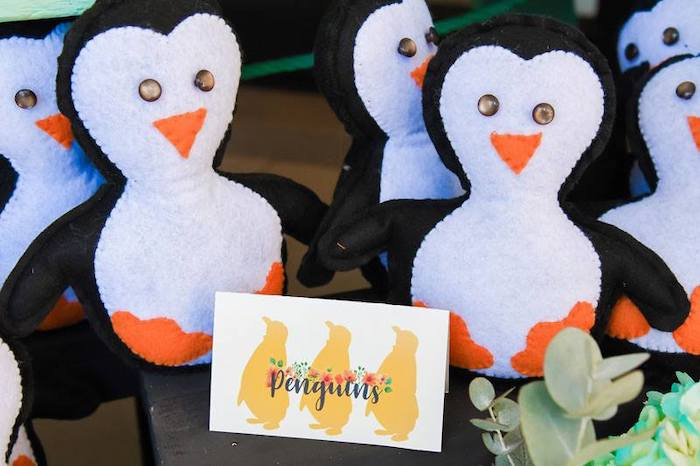 Felt Penguin Favors from a Mary Poppins Birthday Party on Kara's Party Ideas | KarasPartyIdeas.com (50)