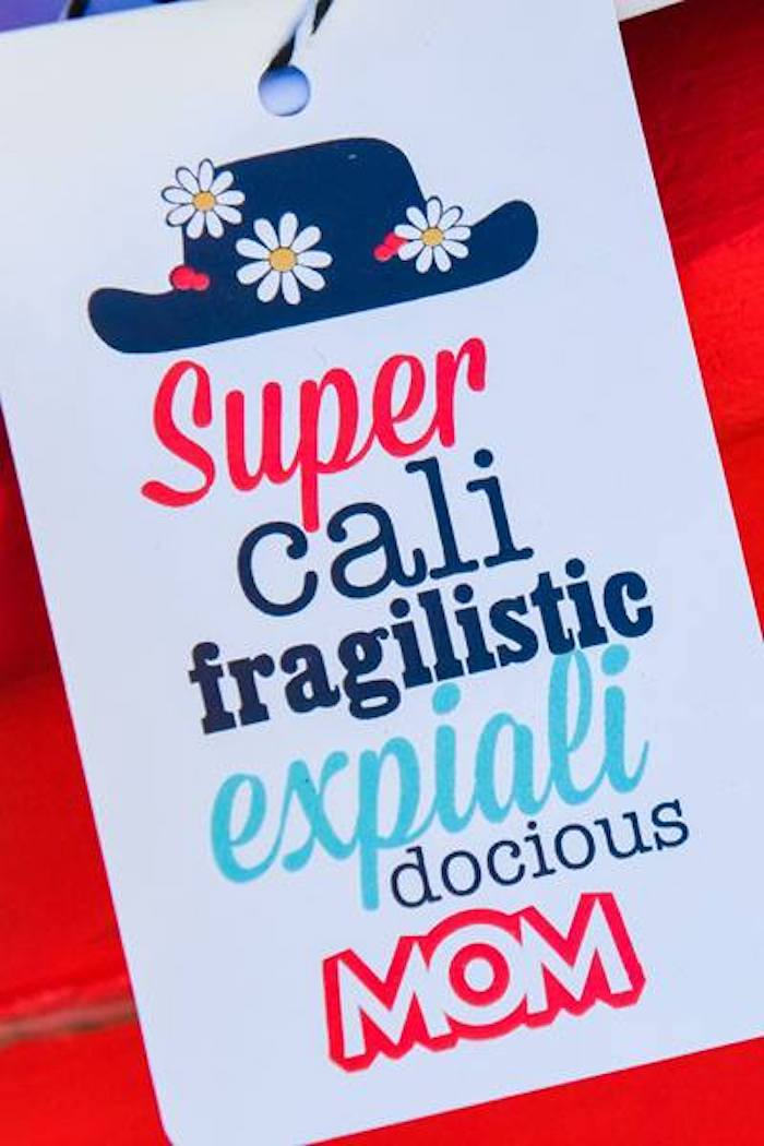 Marty Poppins-inspired Signage from a Mary Poppins Birthday Party on Kara's Party Ideas | KarasPartyIdeas.com (19)