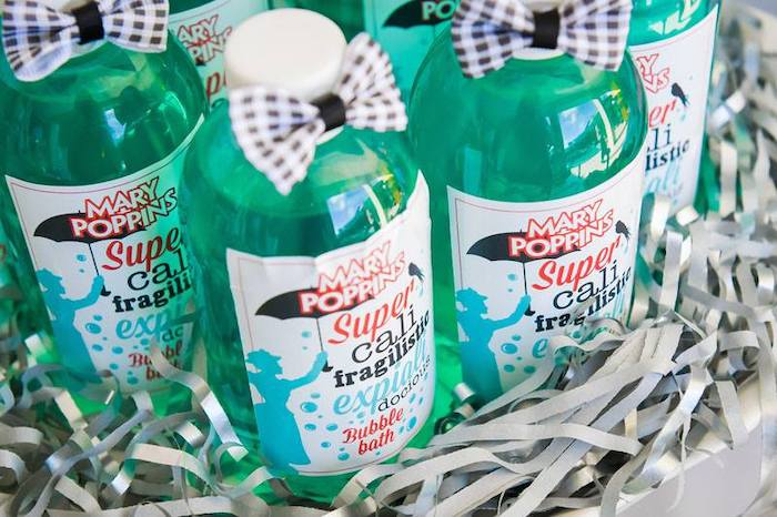 Mary Poppins Bubble Bath from a Mary Poppins Birthday Party on Kara's Party Ideas | KarasPartyIdeas.com (16)
