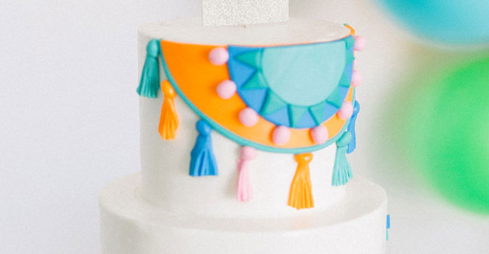 Modern 1st Birthday Fiesta on Kara's Party Ideas | KarasPartyIdeas.com (4)