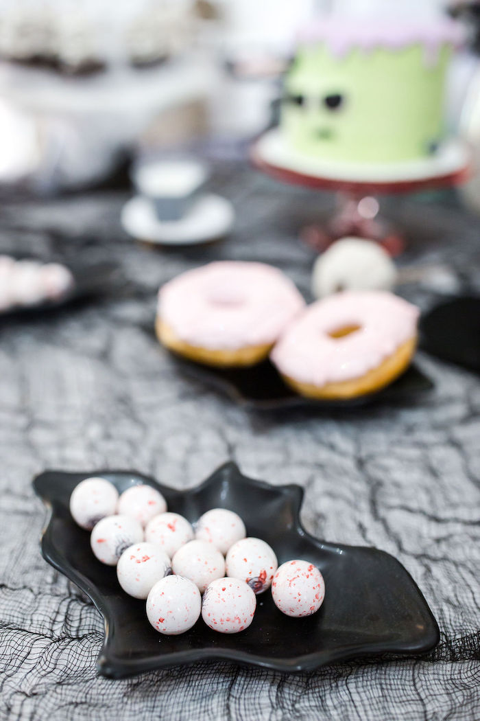 Eyeball Gumballs form a Monster Mash Halloween Party on Kara's Party Ideas | KarasPartyIdeas.com (24)