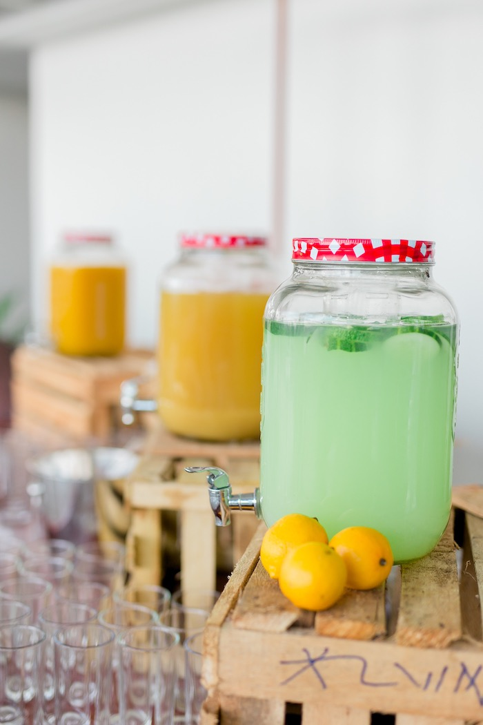 Beverage Bar from a Noah's Ark Birthday Party on Kara's Party Ideas | KarasPartyIdeas.com (23)