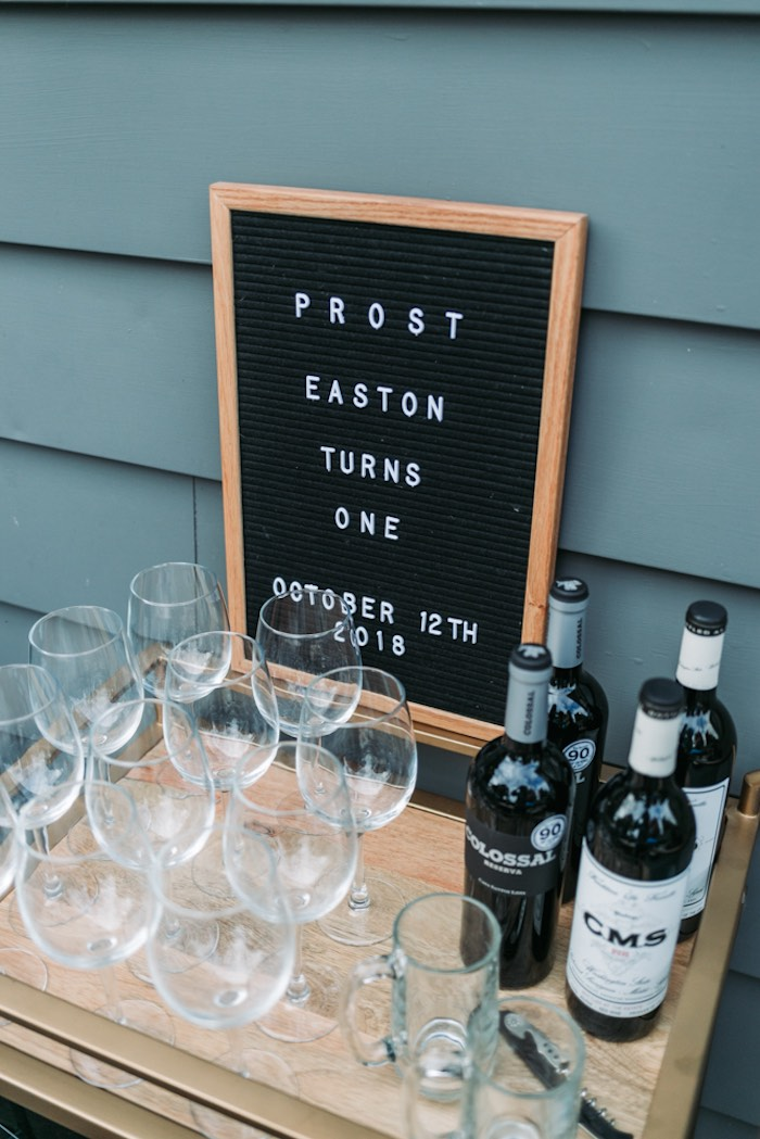 Letter Board Signage from an Oktoberfest Inspired 1st Birthday Party on Kara's Party Ideas | KarasPartyIdeas.com (21)