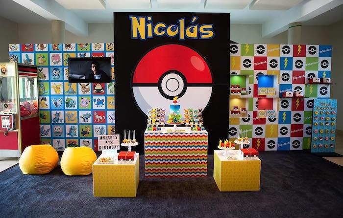 Pokemon Birthday Party on Kara's Party Ideas | KarasPartyIdeas.com (16)