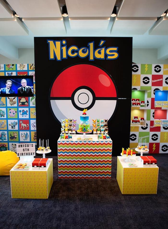 Pokemon Birthday Party on Kara's Party Ideas | KarasPartyIdeas.com (11)