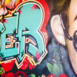 Rainbow Urban Art Birthday Party on Kara's Party Ideas | KarasPartyIdeas.com (3)