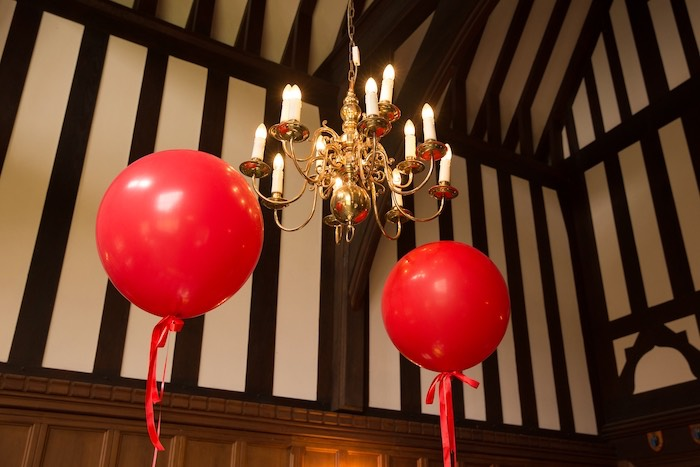 Jumbo Red Balloons from a Snow White Birthday Party on Kara's Party Ideas | KarasPartyIdeas.com (11)