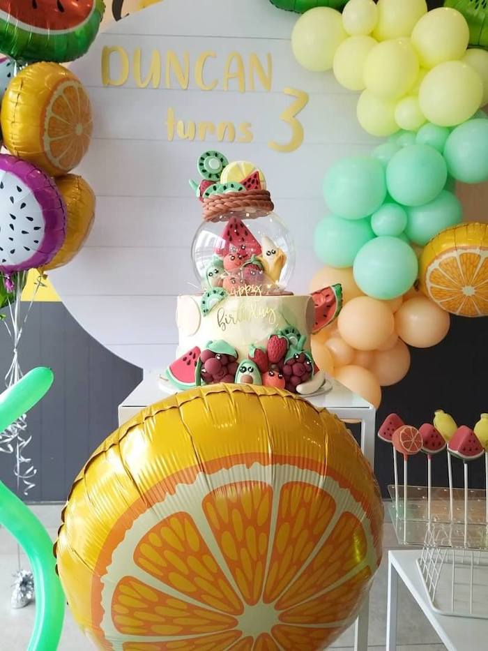 Kara S Party Ideas Tutti Frutti Birthday Party Kara S Party Ideas