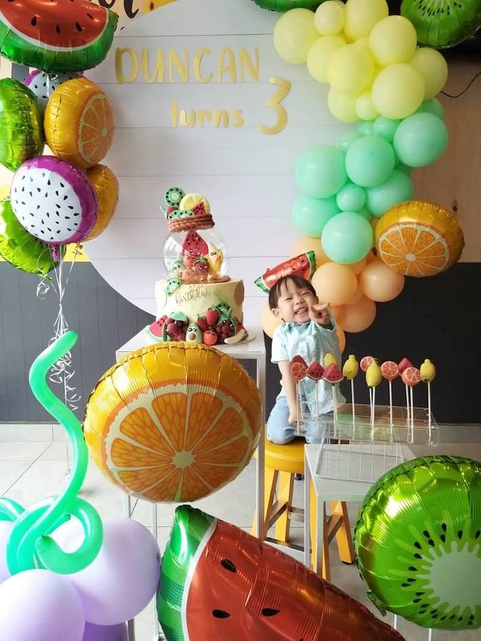 Tutti Frutti Birthday Party on Kara's Party Ideas | KarasPartyIdeas.com (6)