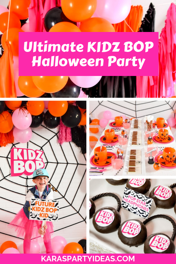 Ultimate KIDZ BOP Halloween Party via Kara's Party Ideas - KarasPartyIdeas.com