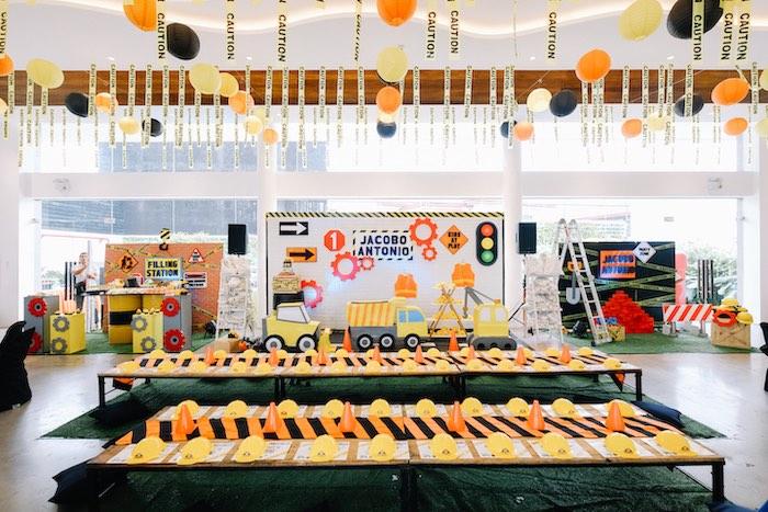 Under Construction Birthday Party on Kara's Party Ideas   KarasPartyIdeas.com (12)