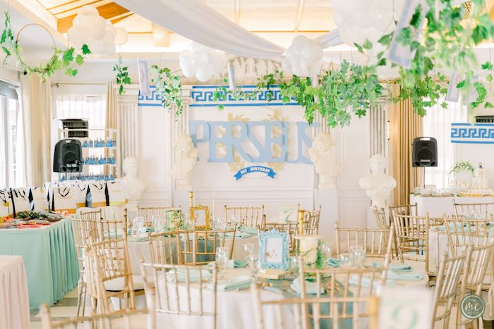 Ancient Greece Inspired Birthday Party on Kara's Party Ideas | KarasPartyIdeas.com (9)