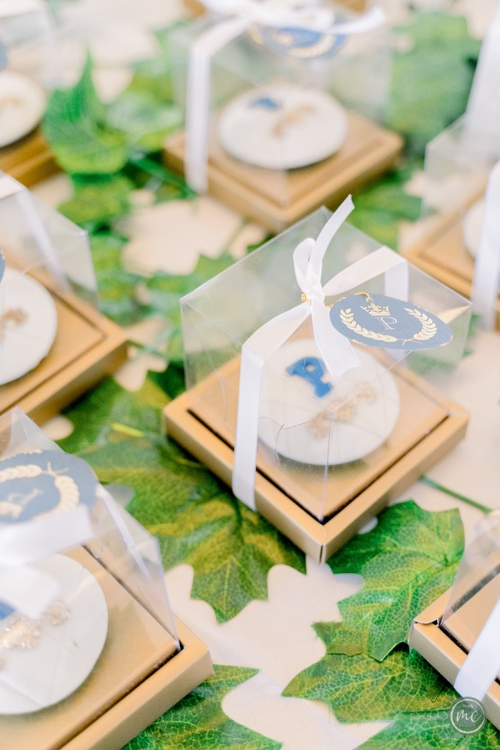 Favor Boxes from an Ancient Greece Inspired Birthday Party on Kara's Party Ideas | KarasPartyIdeas.com (7)