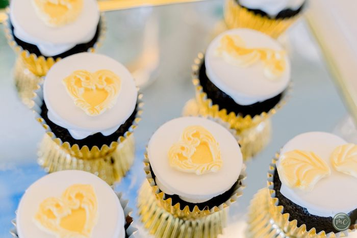 Greek Mythology Cupcakes from an Ancient Greece Inspired Birthday Party on Kara's Party Ideas | KarasPartyIdeas.com (20)
