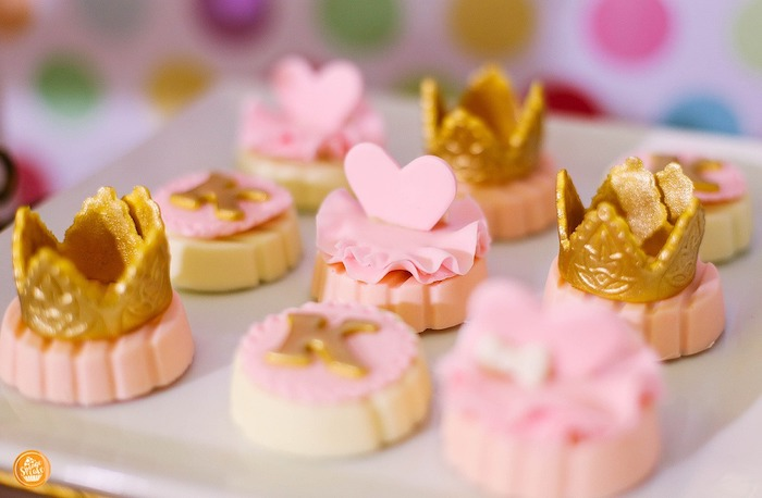 Cookies + Chocolates from a Ballerinas in Candy Land Birthday Party on Kara's Party Ideas | KarasPartyIdeas.com (14)