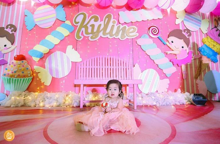 Ballerinas in Candy Land Birthday Party on Kara's Party Ideas | KarasPartyIdeas.com (5)