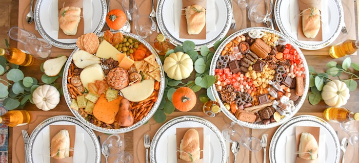 Canary and King Thanksgiving Tablescape Table Spread by Kara's Party Ideas-105