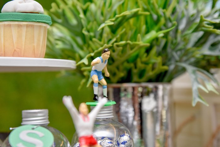 Soccer Player Topper from a Cocomelon & Soccer Birthday Party on Kara's Party Ideas | KarasPartyIdeas.com (5)