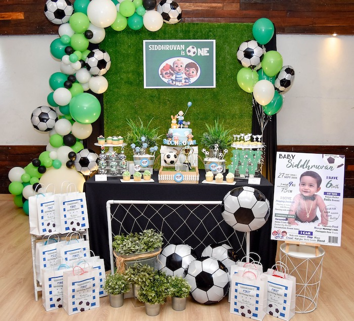 Cocomelon & Soccer Birthday Party on Kara's Party Ideas | KarasPartyIdeas.com (17)