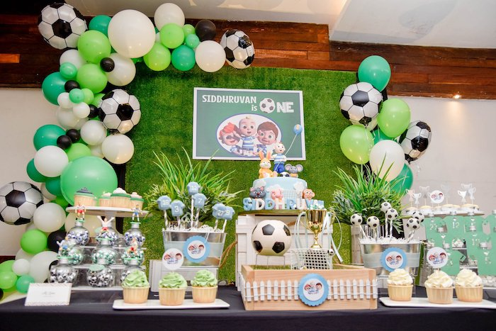 Cocomelon & Soccer Birthday Party on Kara's Party Ideas | KarasPartyIdeas.com (16)