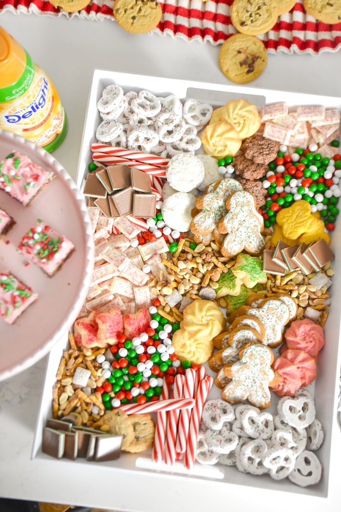 Cookie Exchange Party with Sugar Cookie Bar Recipe and Sugar Cookie Mocktail by Kara's Party Ideas for International Delight-306