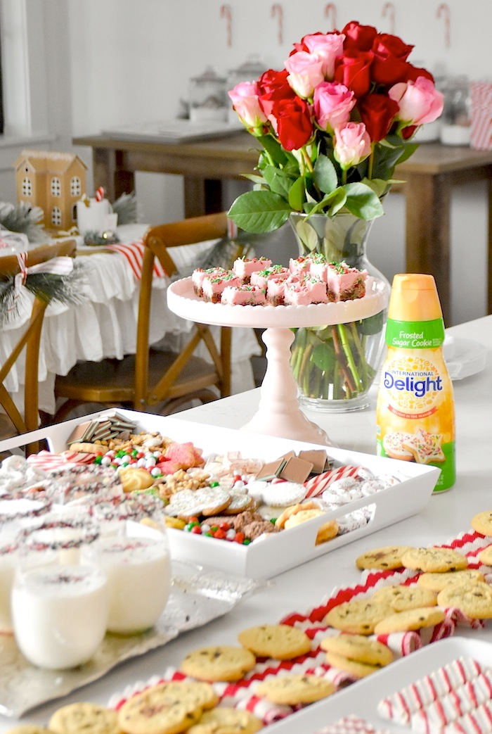 Cookie Exchange Party with Sugar Cookie Bar Recipe and Sugar Cookie Mocktail by Kara's Party Ideas for International Delight-307