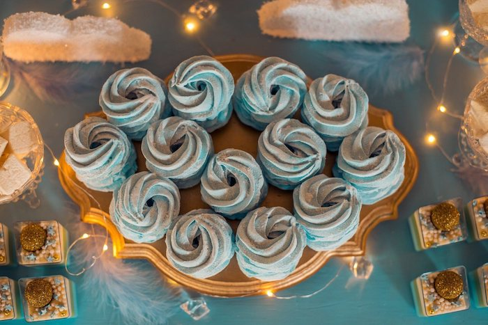 Night Sky Cupcakes from a Dreamy Wish Upon a Star Christening Party on Kara's Party Ideas | KarasPartyIdeas.com (7)