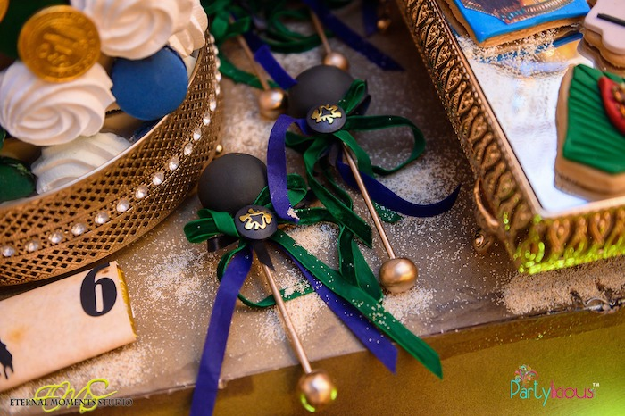 Royal Scepter Cake Pops from an Egyptian Themed Birthday Party on Kara's Party Ideas | KarasPartyIdeas.com (58)