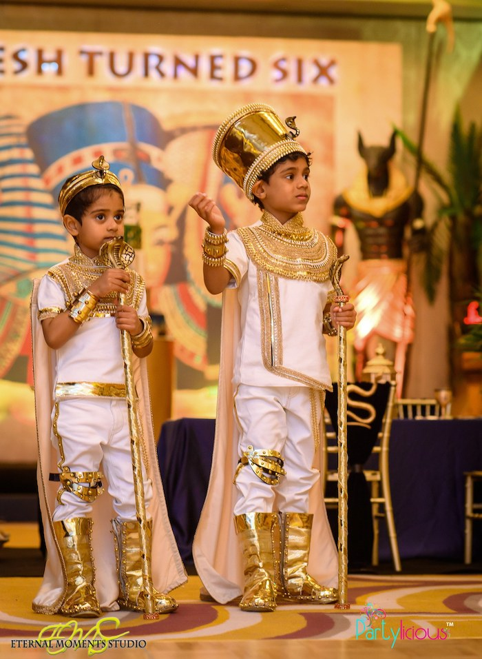 Little Princes from an Egyptian Themed Birthday Party on Kara's Party Ideas | KarasPartyIdeas.com (51)