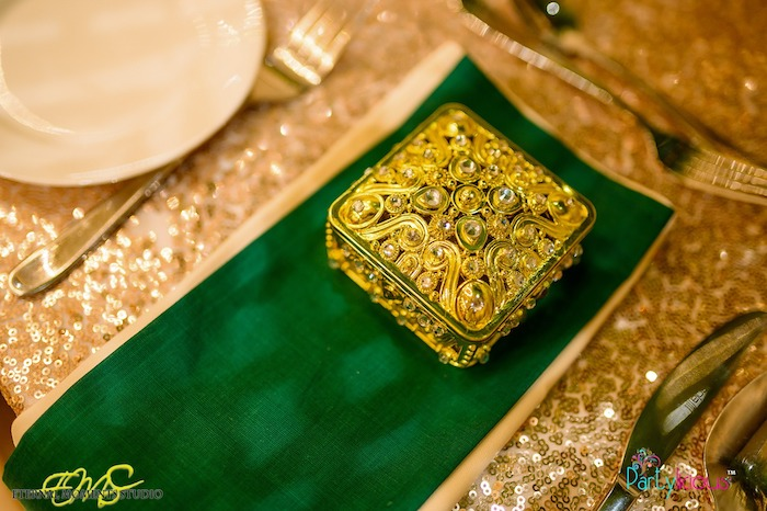 Gold Jeweled Favor Box from an Egyptian Themed Birthday Party on Kara's Party Ideas | KarasPartyIdeas.com (39)