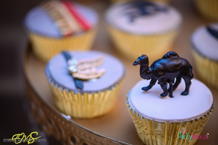 Egyptian Themed Camel Cupcake from an Egyptian Themed Birthday Party on Kara's Party Ideas | KarasPartyIdeas.com (29)