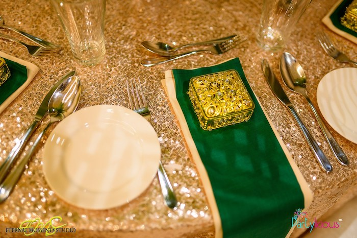 Adult Guest Table Setting from an Egyptian Themed Birthday Party on Kara's Party Ideas | KarasPartyIdeas.com (28)