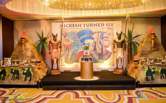Egyptian Themed Birthday Party on Kara's Party Ideas | KarasPartyIdeas.com (10)