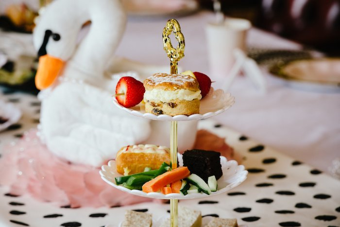 Food Platter from an Elegant Swan Soiree on Kara's Party Ideas | KarasPartyIdeas.com (7)