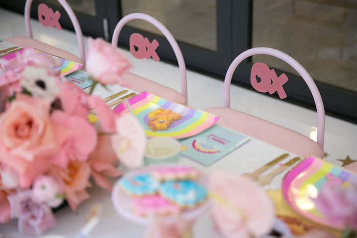 XO Chair Ties from a Friendship is Magic Birthday Party on Kara's Party Ideas | KarasPartyIdeas.com (38)