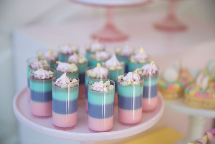 Layered Pastel Jello Shooters from a Friendship is Magic Birthday Party on Kara's Party Ideas | KarasPartyIdeas.com (20)