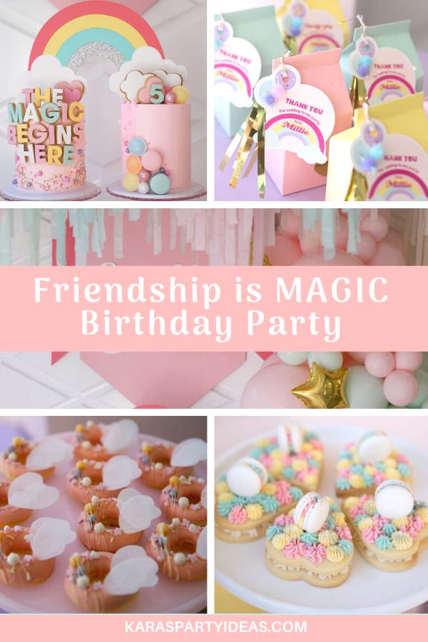 Friendship is Magic Birthday Party via Kara's Party Ideas - KarasPartyIdeas.com