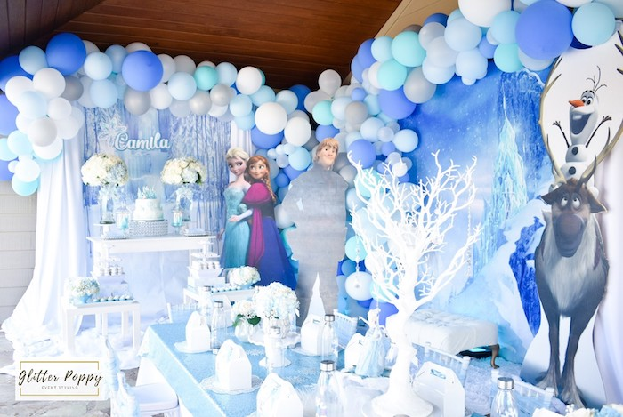 Frozen Birthday Party on Kara's Party Ideas | KarasPartyIdeas.com (16)
