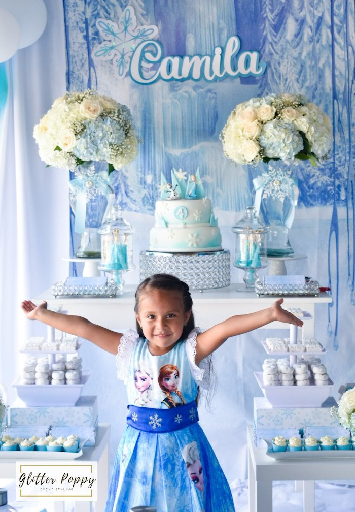 Frozen Birthday Party on Kara's Party Ideas | KarasPartyIdeas.com (4)