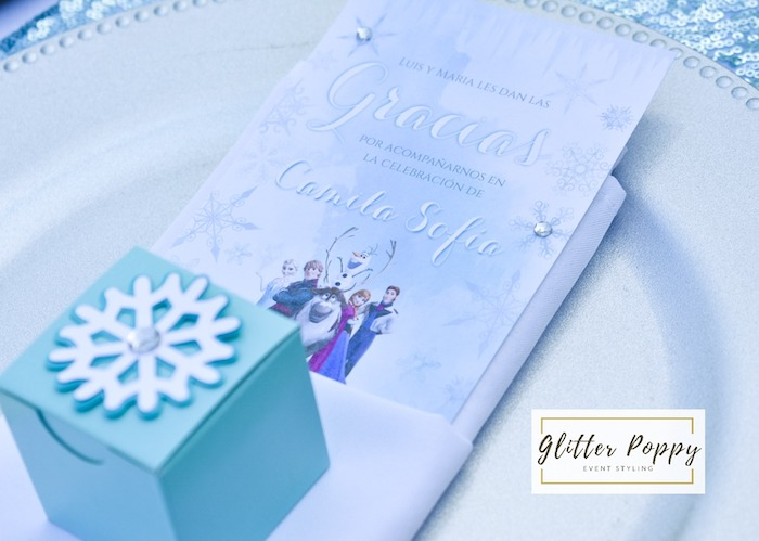 Frozen-inspired Menu Card from a Frozen Birthday Party on Kara's Party Ideas | KarasPartyIdeas.com (26)