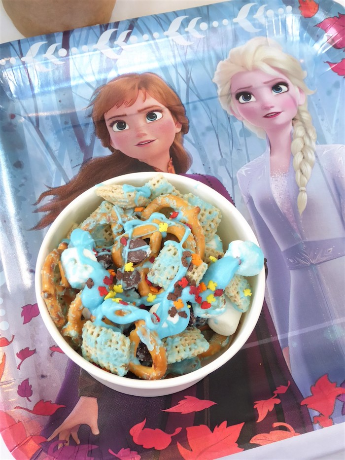 Frozen Themed Trail Mix from a Frozen Themed Hot Chocolate & Dessert Bar on Kara's Party Ideas | KarasPartyIdeas.com (21)