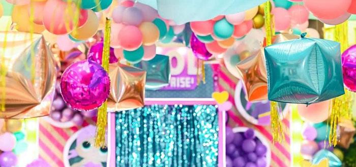 Glitter-ific LOL Surprise Birthday Party on Kara's Party Ideas | KarasPartyIdeas.com (1)