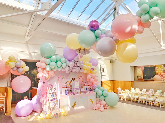 Pastel Unicorn Birthday Party on Kara's Party Ideas | KarasPartyIdeas.com (15)