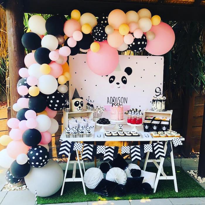 Pink Panda Birthday Party on Kara's Party Ideas | KarasPartyIdeas.com (17)