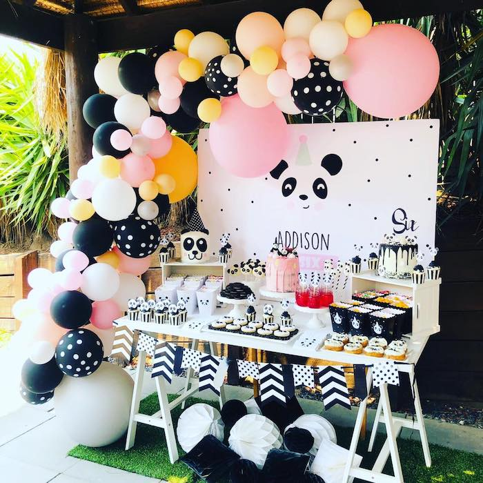 Pink Panda Birthday Party on Kara's Party Ideas | KarasPartyIdeas.com (8)