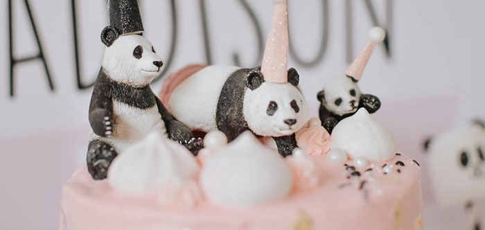 Pink Panda Birthday Party on Kara's Party Ideas | KarasPartyIdeas.com (2)