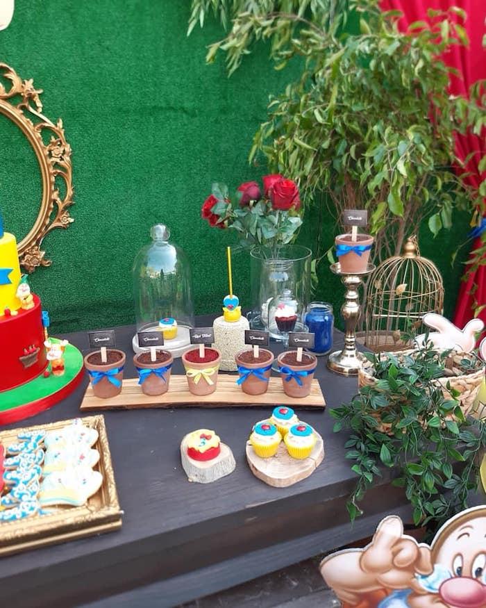 Snow White Birthday Party on Kara's Party Ideas | KarasPartyIdeas.com (15)
