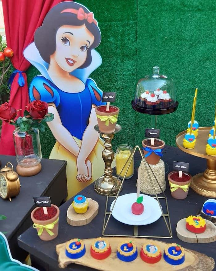 Snow White Birthday Party on Kara's Party Ideas | KarasPartyIdeas.com (14)