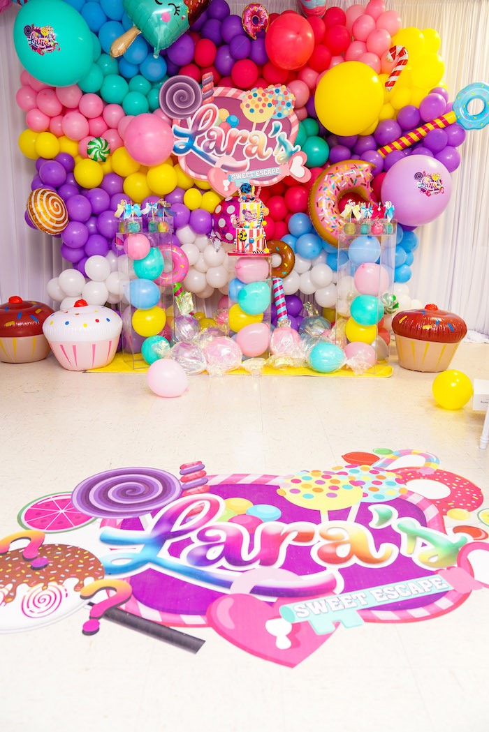 Sweet Shop Birthday Party on Kara's Party Ideas | KarasPartyIdeas.com (17)